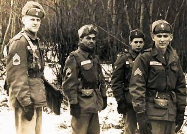 Jesus M. Reyes (United States Army Infantry) in Germany circa 1960.